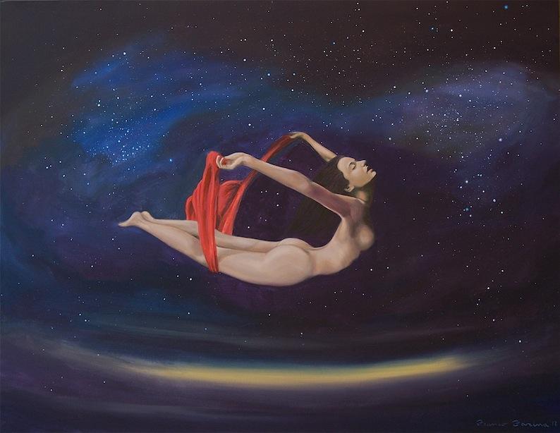 Libertà - Dipinto di Franco Farina